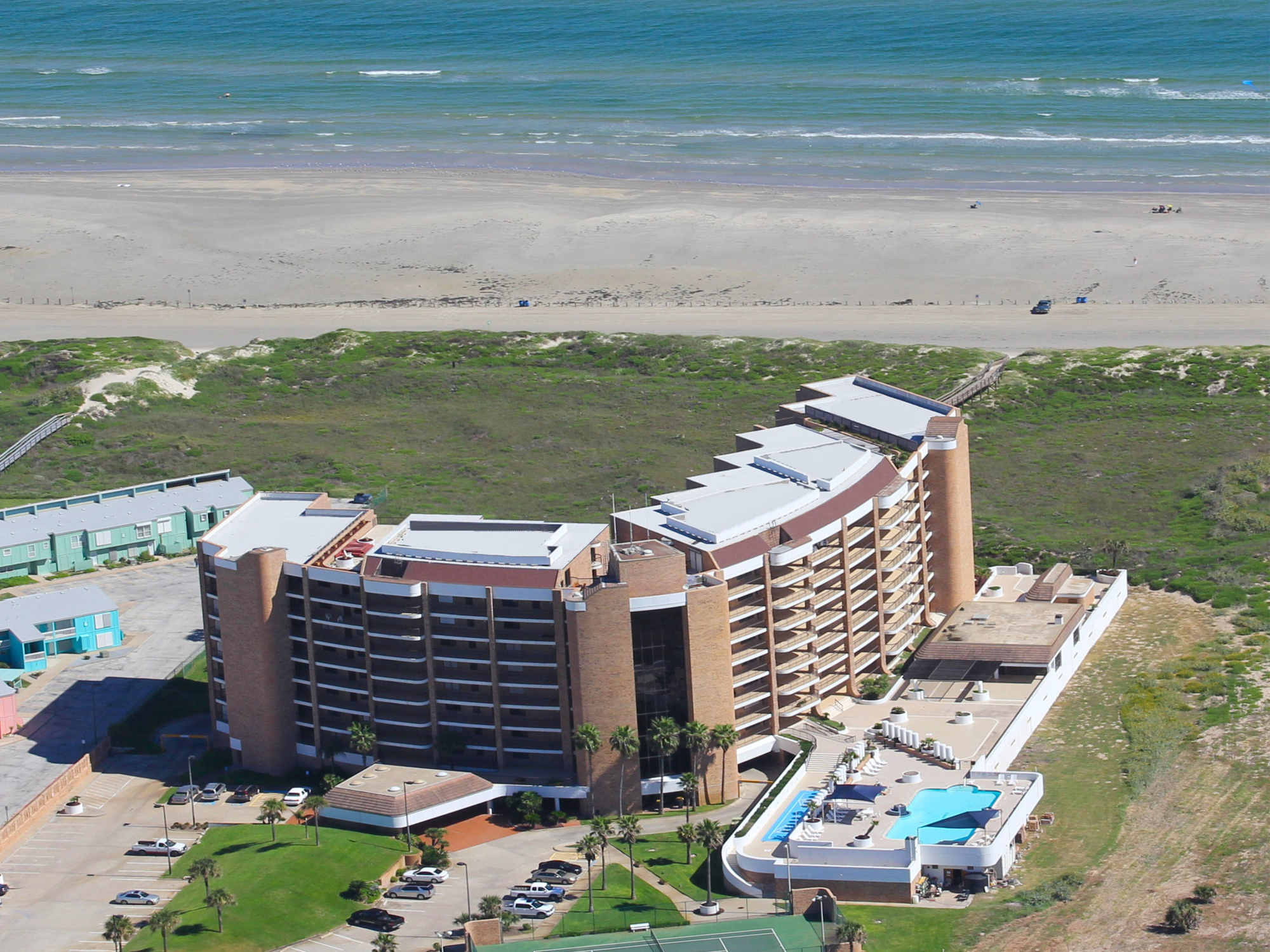 aerial view of Aransas Princess