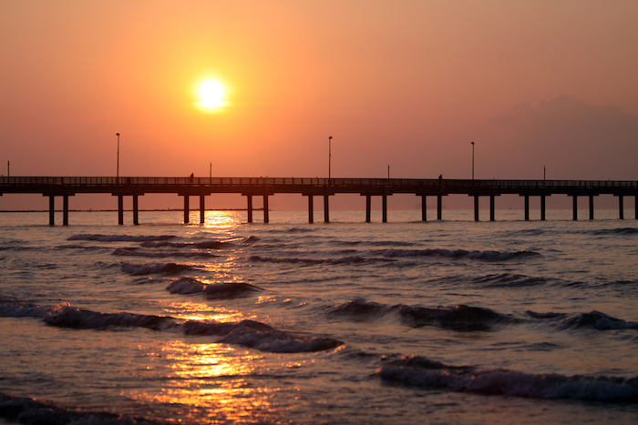 Located Close To The Port Aransas Town Center This Is One Of Most Por Places Fish And Enjoy Sunset