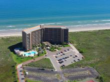 aerial view of Sea Gull Condominiums