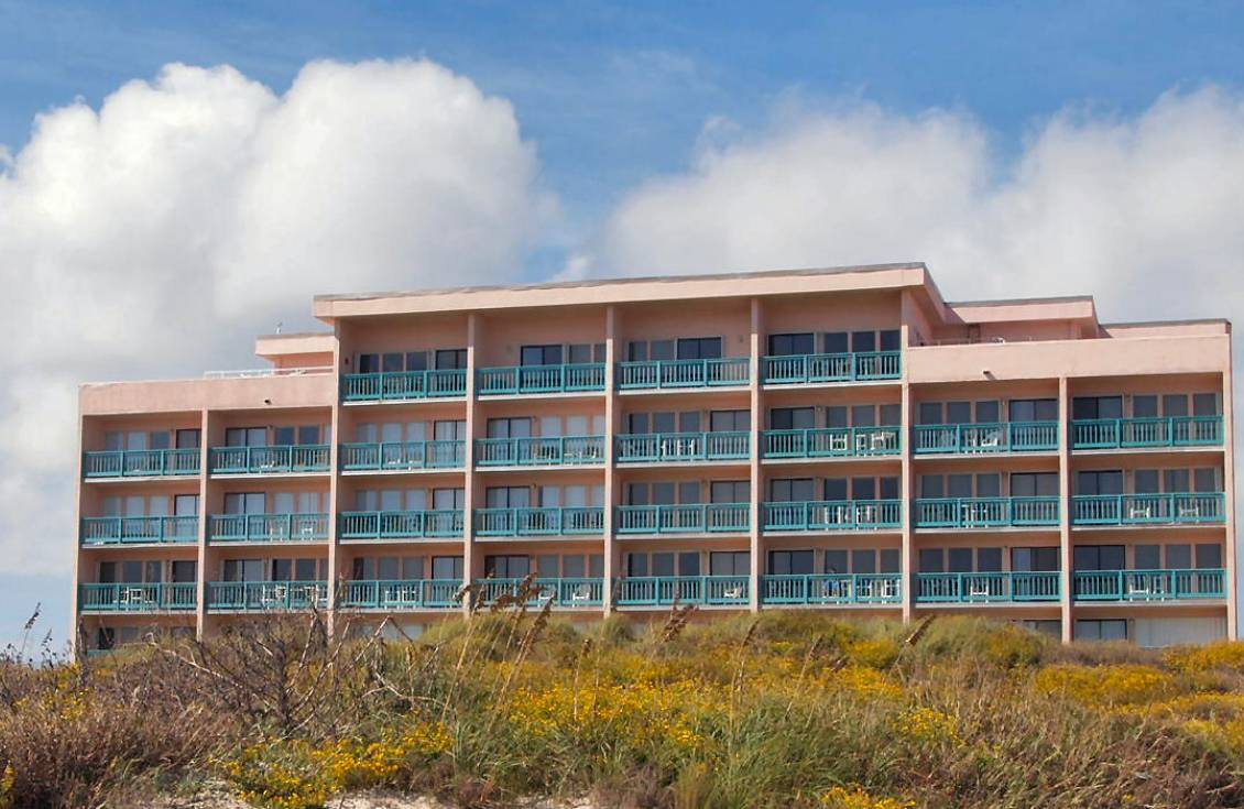 gulf side view of Casa Condominiums