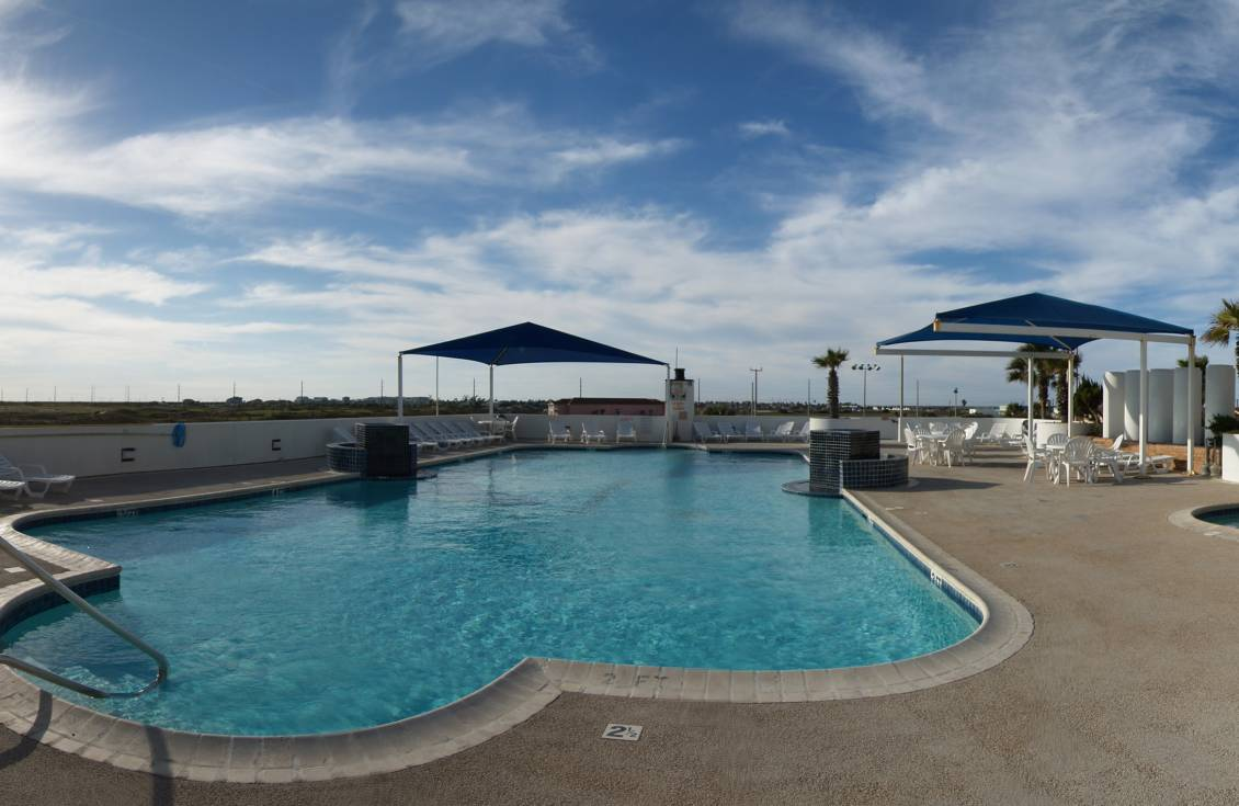Aransas Princess heated pool